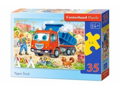 Castorland detské puzzle Nákladiak 35 dielikov