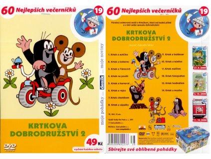 DVD - Krtkova dobrodružství 2