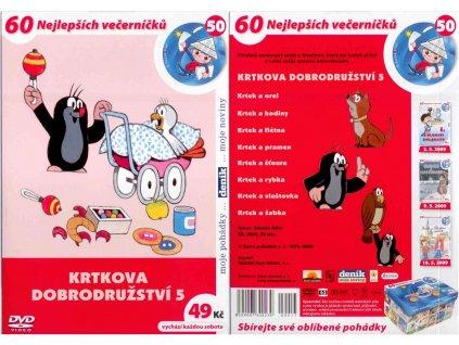 DVD - Krtkova dobrodružství 5