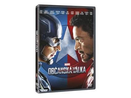 DVD Film - Captain America: Občanská válka