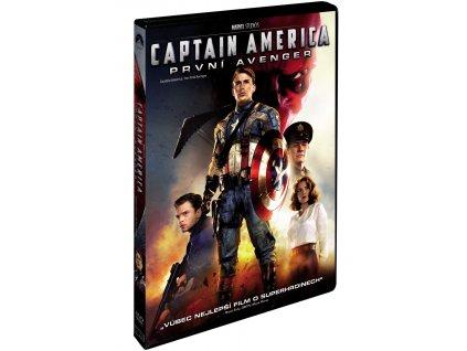 DVD Film - Captain America: První Avenger