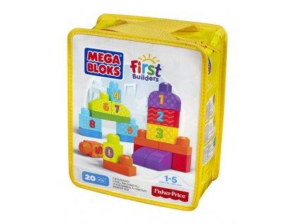 Mega Bloks First Builders Počty 20 ks