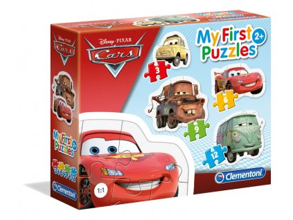 Clementoni My First Puzzles - Cars 4v1
