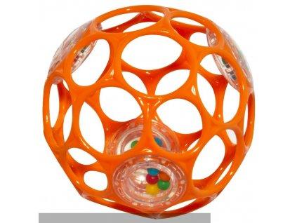 Oball lopta 10 cm oranžová