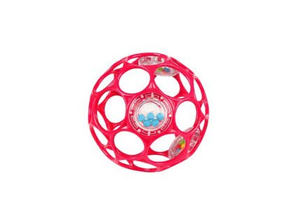 Oball lopta 10 cm ružová