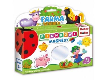 Roter Käfer Penové magnety - Farma