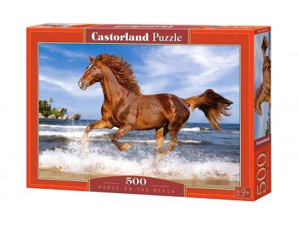 Castorland Puzzle - Kôň na pláži 500 dielikov