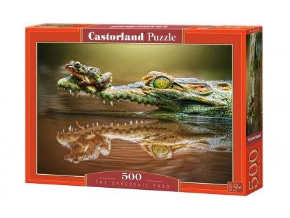 Castorland Puzzle - Daredevil Frog 500 dielikov