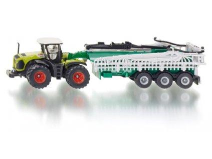 Siku Farmer 1827 traktor Claas s vákuovým tankerom Samson 1:87