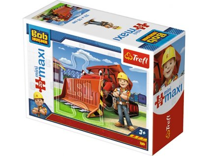 Trefl mini Maxi puzzle Bob Staviteľ 21011 - 20 dielikov