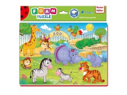 Roter Käfer Penové puzzle Zoo - 24 dielikov