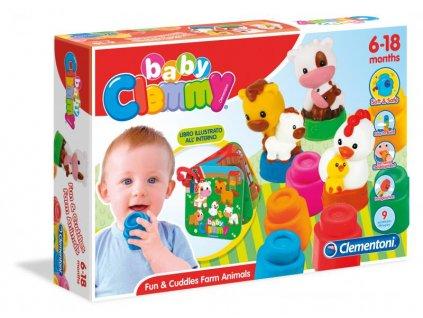 Clementoni Clemmy Baby Farma - s knižkou