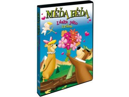 DVD - Méďa Béďa: Láska jako trám