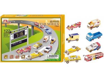 3D Puzzle - Autá