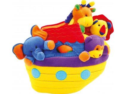 Small Foot - Jachta so zvieratami