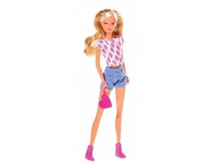 Simba bábika Steffi - Fashion Breeze (šortky)