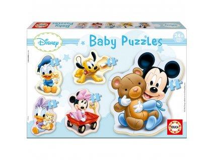 Educa Disney Babies Puzzles Mickey 5v1