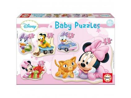 Educa Disney Babies Puzzles Minnie 5v1