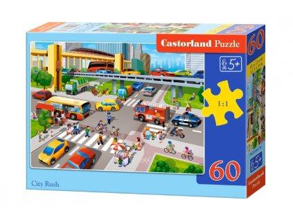 Castorland detské puzzle Križovatka 60 dielikov