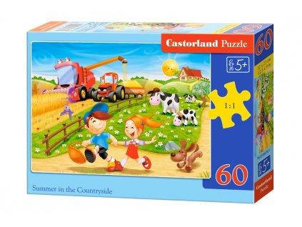 Castorland Detské puzzle Leto na vidieku 60 dielikov