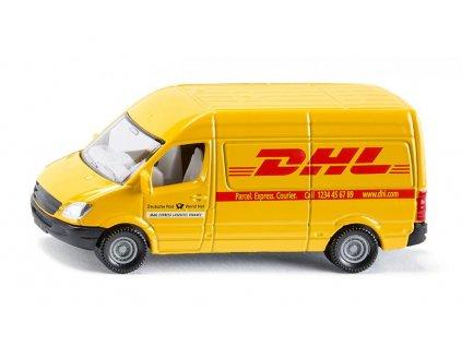 Poštová dodávka DHL Mercedes - Siku 1085