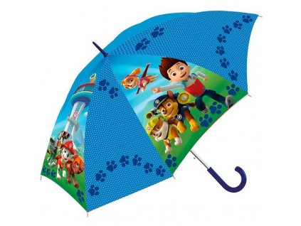 Detský dáždnik Paw Patrol 65 cm modrý