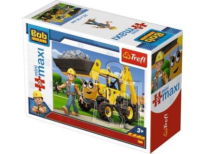 Trefl mini Maxi puzzle Bob Staviteľ 21010 - 20 dielikov
