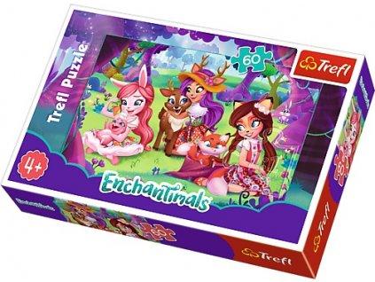 Trefl puzzle Enchantimals a priatelia 60 dielikov