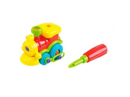 Play Go Junior mechanik - Lokomotíva