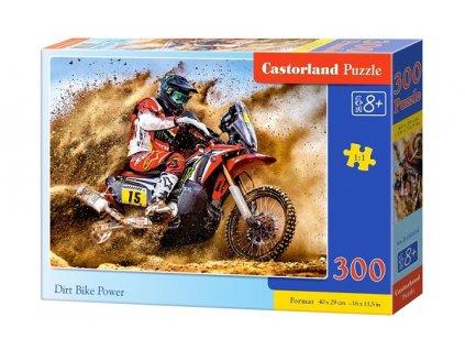 Castorland detské puzzle Motorka 300 dielikov