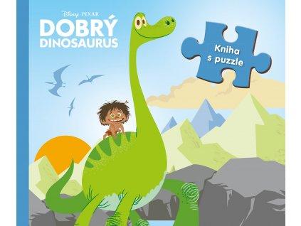 Dobrý dinosaurus - Kniha s puzzle
