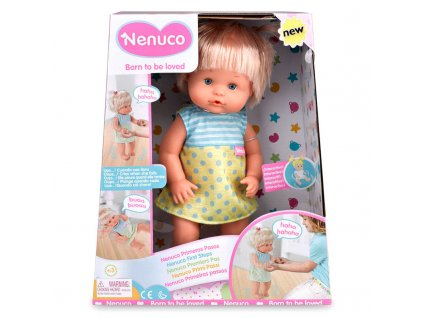 Famosa bábika Nenuco First Steps 35 cm