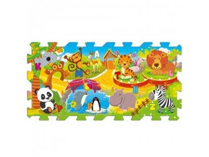 Trefl penové puzzle na podlahu - Zoo 8 dielikov