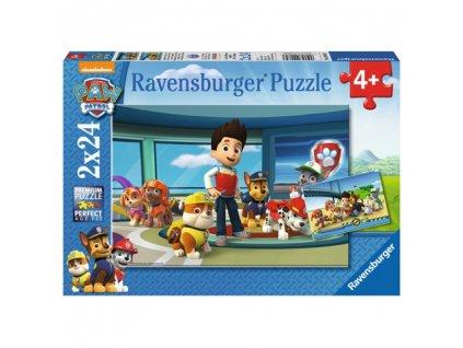 Ravensburger puzzle Paw Patrol 2 x 24 dielikov
