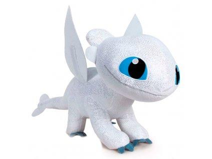 Plyšový drak Light Fury 60 cm