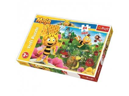 Trefl Maxi puzzle Včielka Maja 24 dielikov