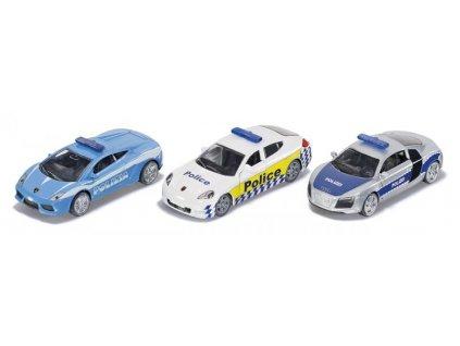 Siku 6302 Set troch policajných áut 1:87