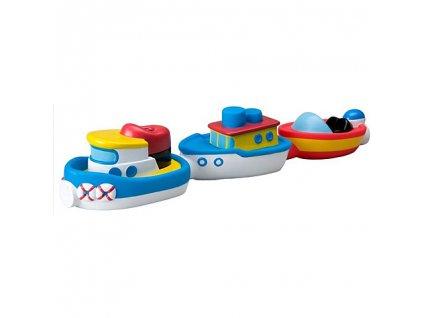 Magnetické loďky do vody - 3 ks