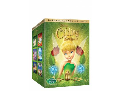 DVD Kolekcia filmov Cililing 1-6