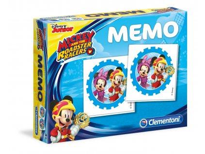 Clementoni Pexeso - Mickey a závodníci