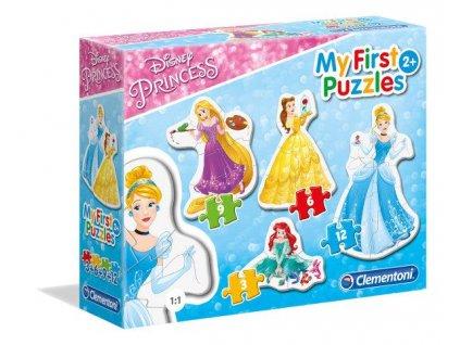 Clementoni My First Puzzles - Princezné 4v1