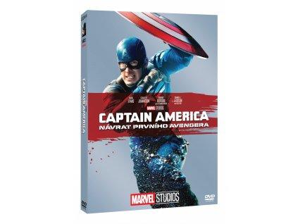 DVD -   Captain America: Návrat prvního Avengera - EM