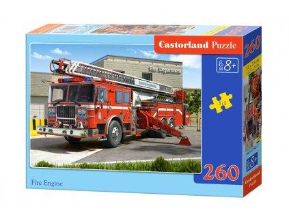 Castorland puzzle Hasičské auto - 260 dielikov