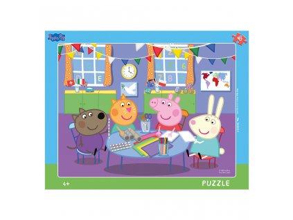 Dino doskové puzzle Peppa Pig 40 dielikov