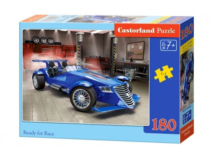 Castorland puzzle Ready for race - 180 dielikov