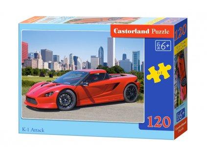 Castorland puzzle K1 Attack 120 dielikov