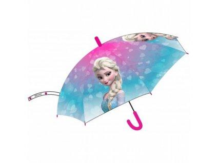 Detský dáždnik Elsa 73 cm modrý