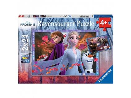 Ravensburger puzzle Frozen II 2 x 24 dielikov