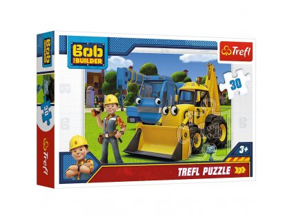 Trefl puzzle Bob staviteľ 30 dielikov