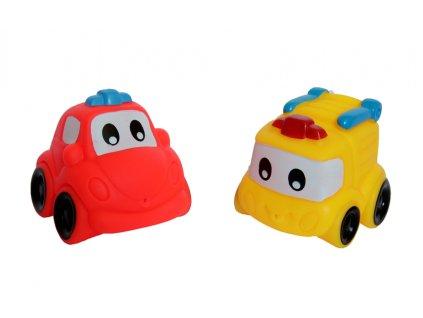Gumené autíčka - 2 ks